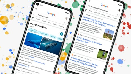 Google redesign its mobile search engine