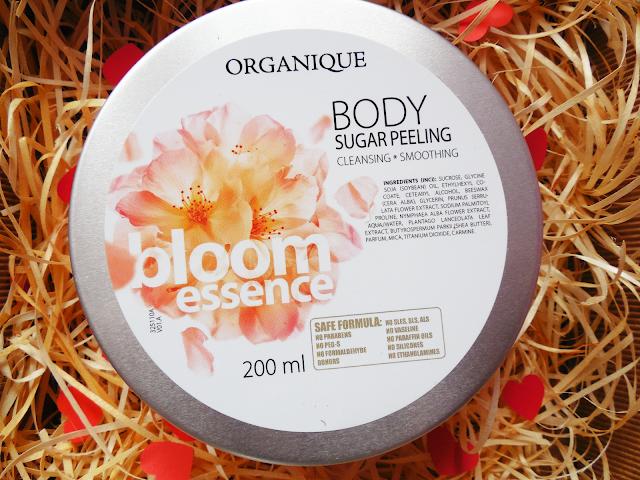 Organique - cukrowy peeling Bloom Essence - recenzja