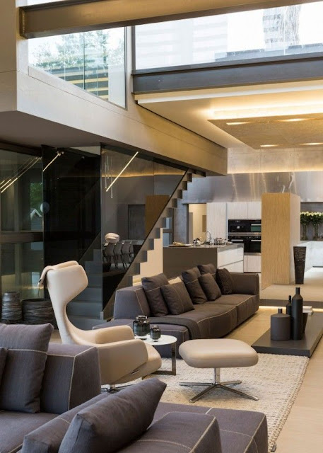 furniture design below staircase