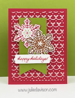 Stampin' Up! Frosted Gingerbread Catalog CASE + Sunday Stamping Video ~ Gingerbread  & Peppermint Suite ~ July-December 2021 Mini Catalog ~ www.juliedavison.com #stampinup