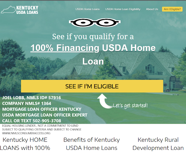 Kentucky Rural Housing Lender Guidelines for Credit Score, Income
