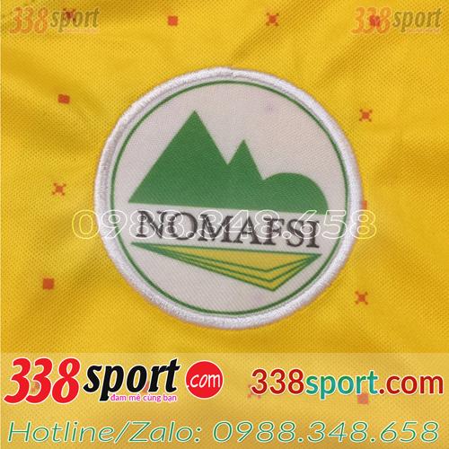 In logo lên áo bóng đá