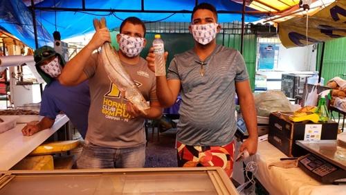 Feiras em Olinda recebem ação de combate ao coronavírus