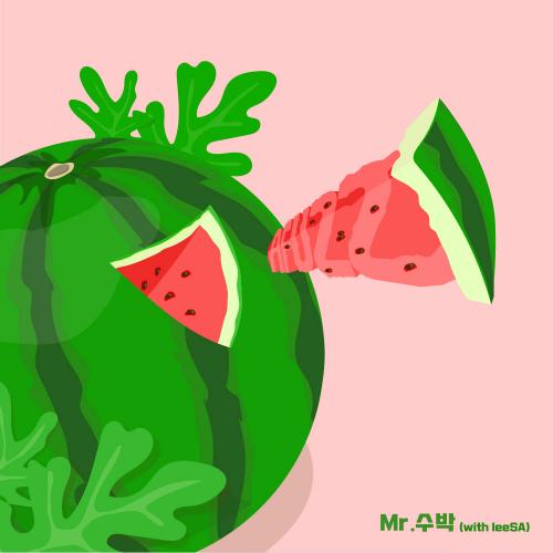 A-FUZZ – Mr. Watermelon (With LeeSA) – Single