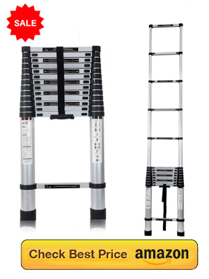 Foldable ladder for home