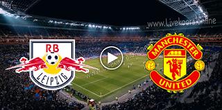مشاهدة مباراة مانشستر يونايتد ولايبزيغ بث مباشر بتاريخ 28-10-2020 في دوري أبطال أوروبا