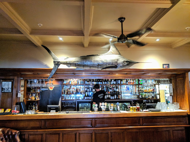 Things to do in Russell: Check out the giant swordfish over the bar at the Duke of Marlborough Hotel