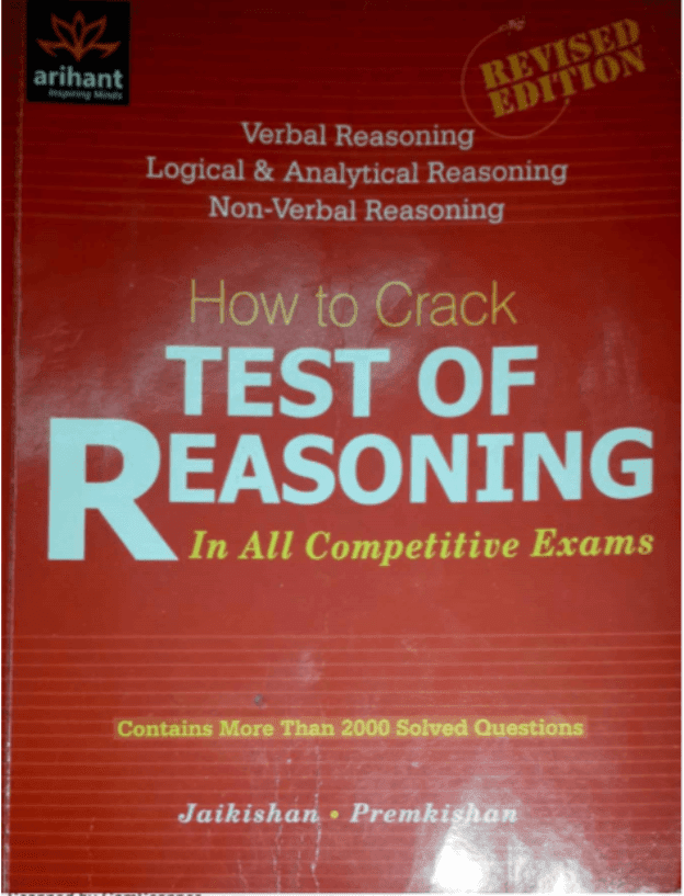 How-to-Crack-Test-of-Reasoning-For-All-Competitive-Exam-PDF-Book