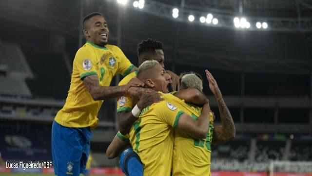 SELEÇÃO BRASILEIRA BATE O CHILE E SEGUE NA CONMEBOL COPA AMÉRICA