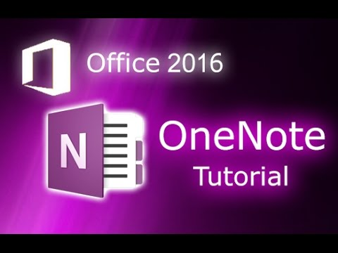 Microsoft OneNote Tutorial Windows 10 - Free Software