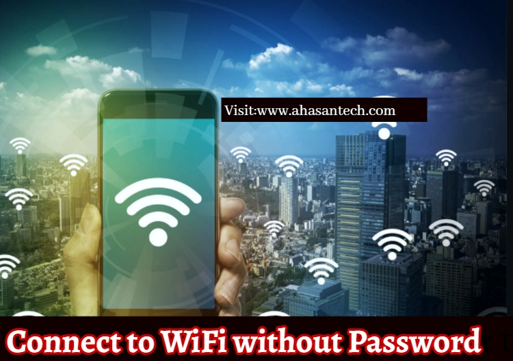 Connect to WiFi without password.