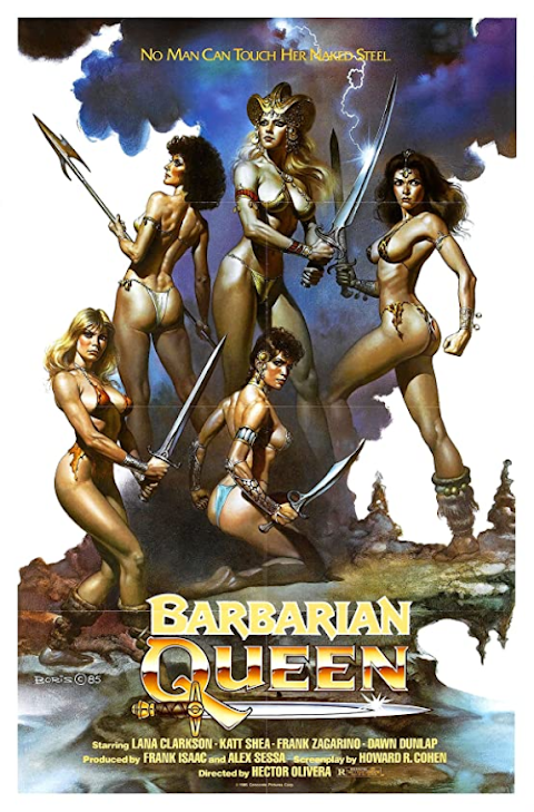 18+ Barbarian Queen 1985 English 720p BluRay 510MB Download