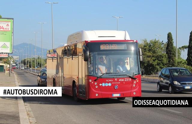 #AutobusDiRoma - CityMood12 CNG, altri 147 mezzi potenziano la flotta a metano della Capitale!