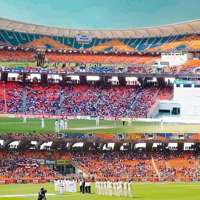 Narendra Modi Stadium Past Records