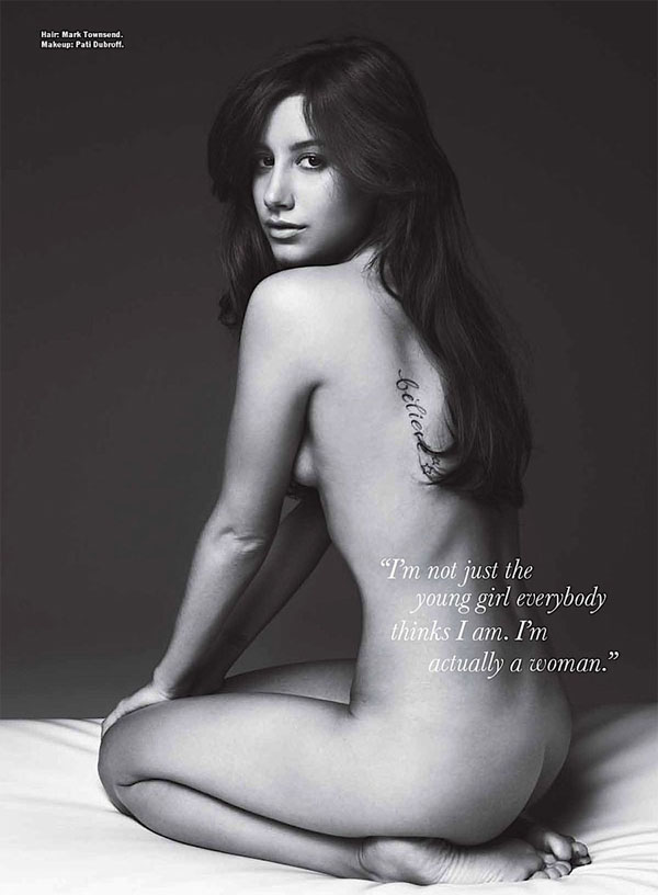 Ashley Tisdale Fully Nude 109