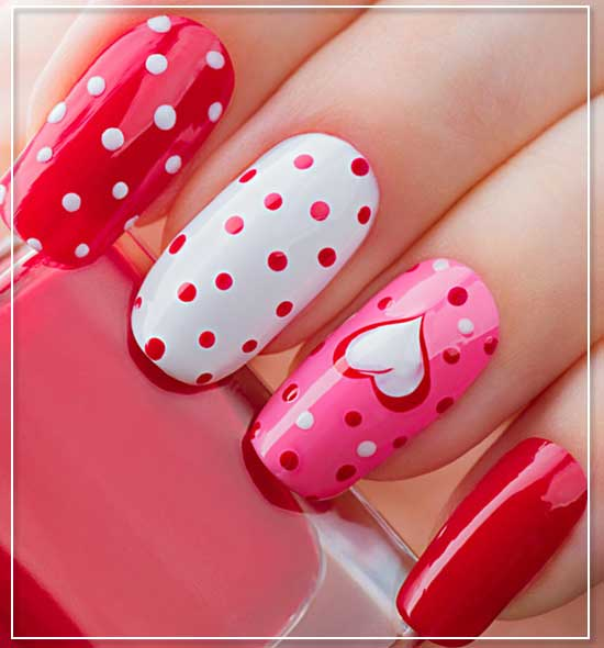 Dot Adorable Chic Nail Art Designs