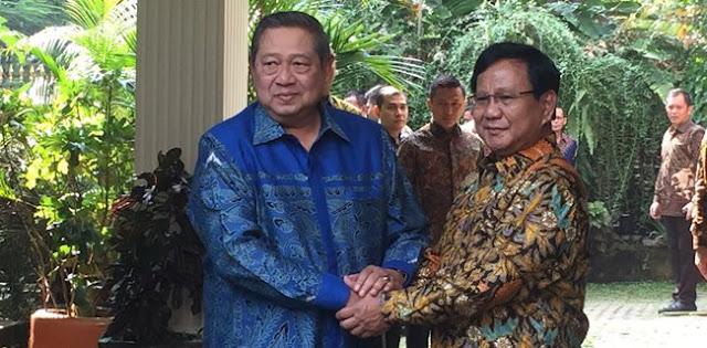 Tidak Ada Keretakan, SBY Dan Prabowo Bertema Dalam Waktu Dekat