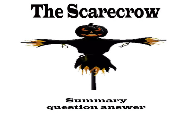 The scarecrow question and answers