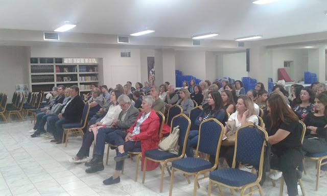 """Με επιτυχία η εκδηλωση του Πολιτιστικού Συλλόγου Κιβερίου  """"ΓΕΝΕΣΙΟΝ""""  για τον σχολικό εκφοβισμό"""