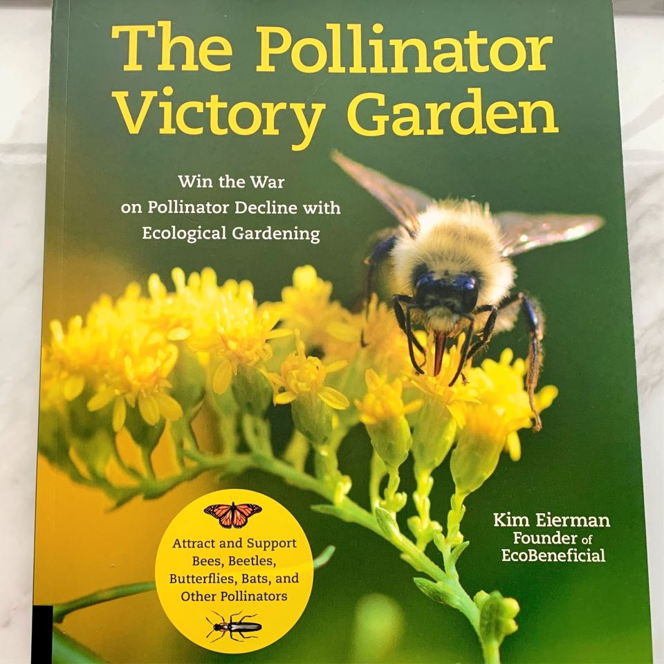 The Pollinator Victory Garden Book Review and Giveaway #ad
