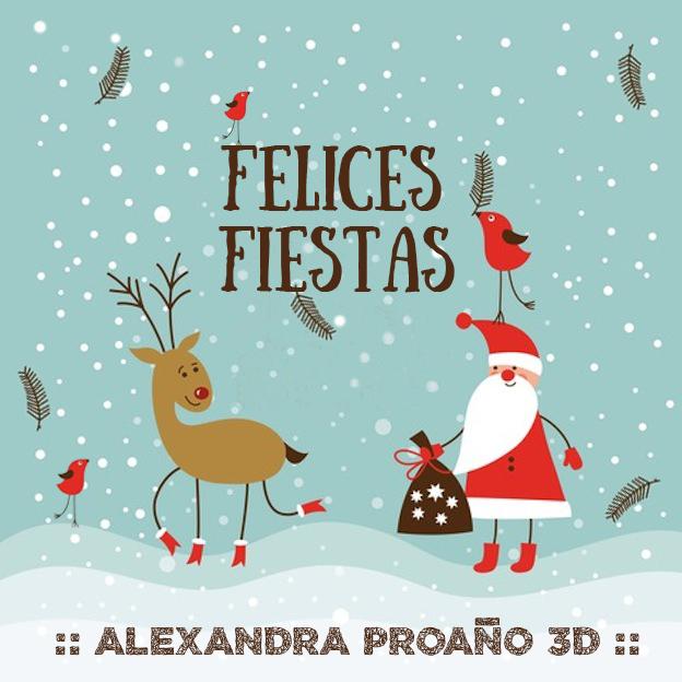 Alexandra Proaño 3D, Green Pear Diaries, Feliz Navidad