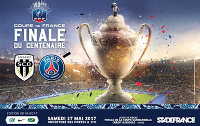 Regarder la Finale de la coupe de France de football 2016-2017 en direct