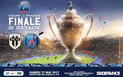Regarder la Finale de la coupe de France de football 2016-2017 en direct
