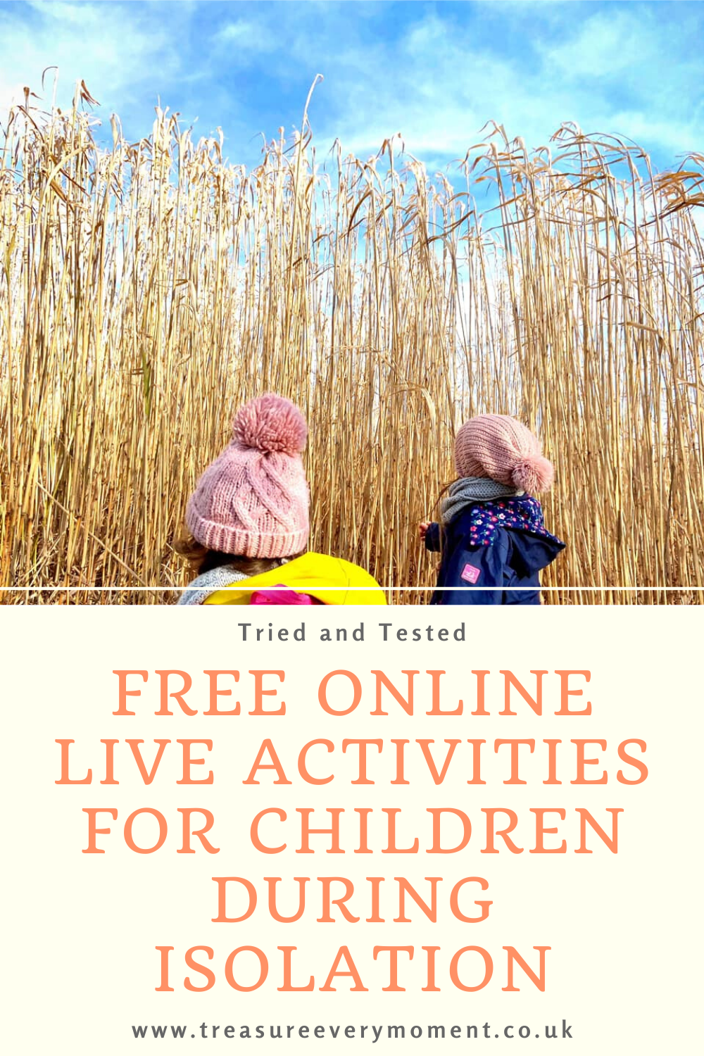 Tried and Tested Free Online Live Activities for Children during Isolation