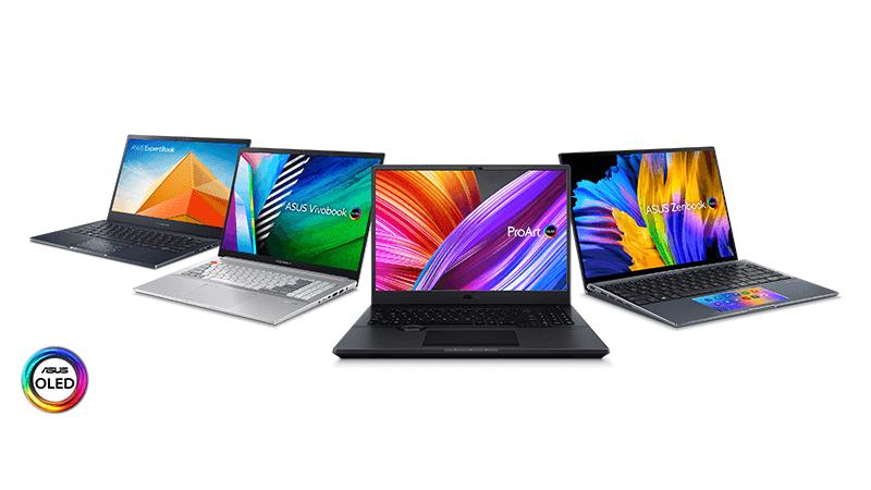 ASUS announces new ProArt Studiobook, Vivobook Pro, ZenBook 14X, and Expertbook B5 OLED series laptops