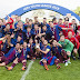 Goodnews.  As Barça U19 Defeated Chelsea  (0-3) To Take Home The Cup.