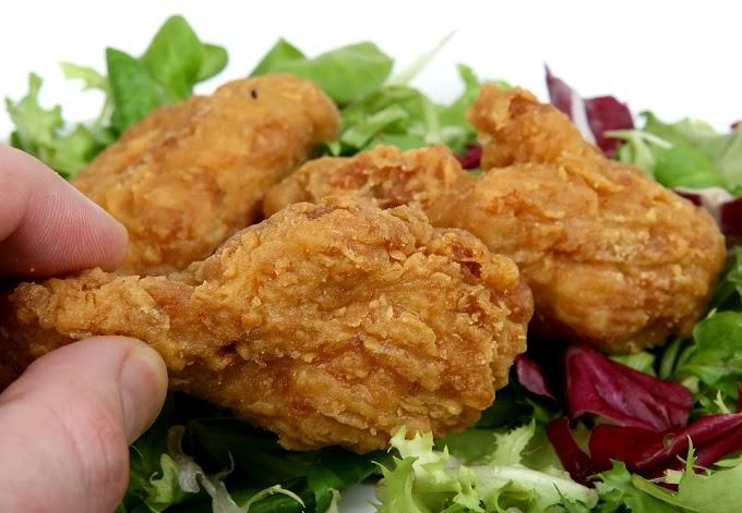 Muslitos de pollo fritos