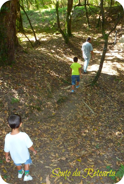 paseo familia eucaliptal