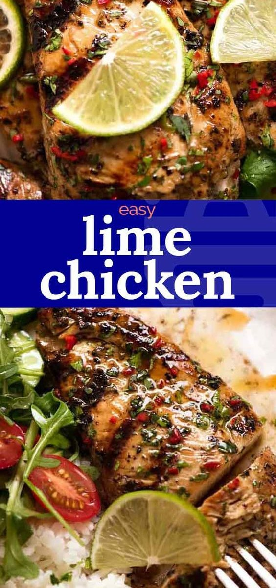 Fabulous Lime Marinated Grilled Chicken