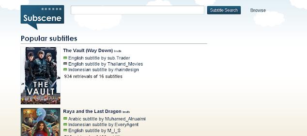 tampilan subscene.icu situs download subtitle film bahasa indonesia alternatif subscene