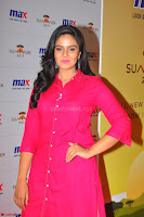 Sree Mukhi in Pink Kurti looks beautiful at Meet and Greet Session at Max Store (28).JPG