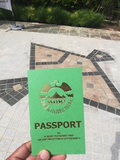 pasport, taman budaya sarawak,sarawak cultural village