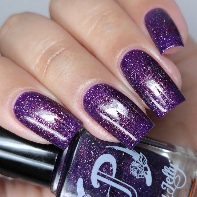 Pretty Jelly Nail Polish - Mauve Stinger
