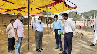 ईवीएम मशीन रखने के उपरांत कोई भी व्यक्ति कमरे में प्रवेश न कर पाए : DM Jaunpur | #NayaSaberaNetwork
