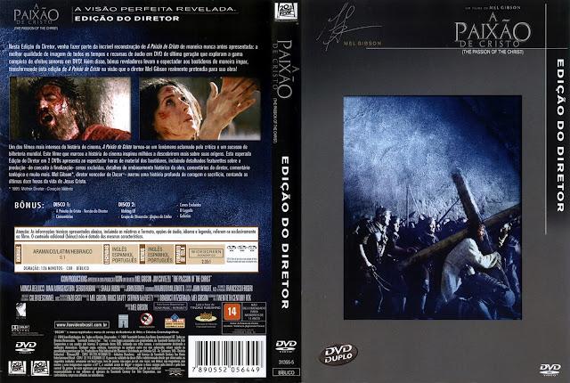 Capa DVD A Paixão de Cristo [Edição do Diretor]