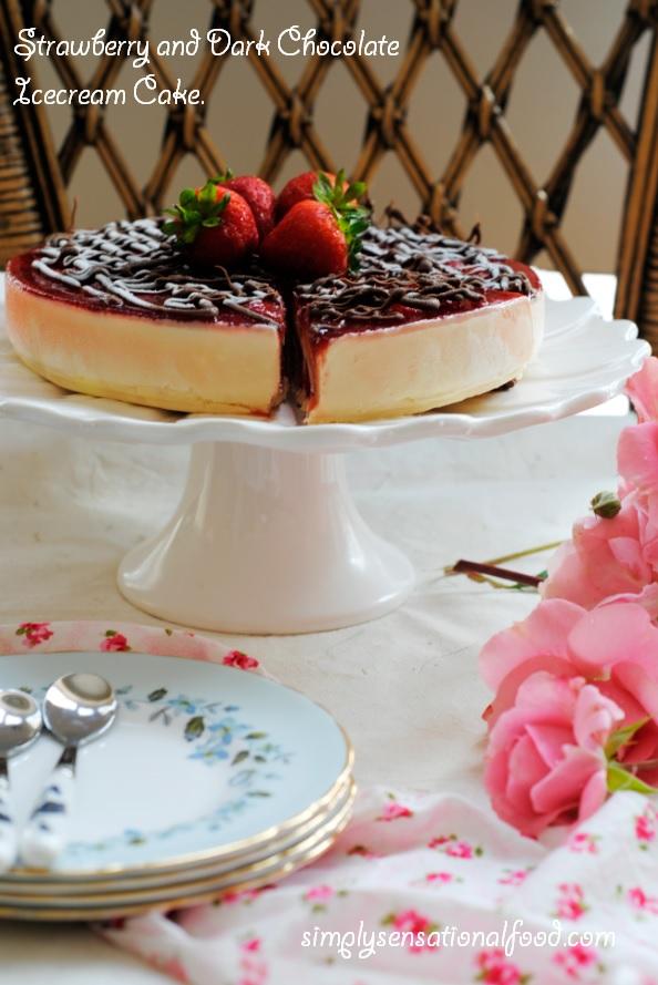 Ice Cream Cake Recipe Strawberry