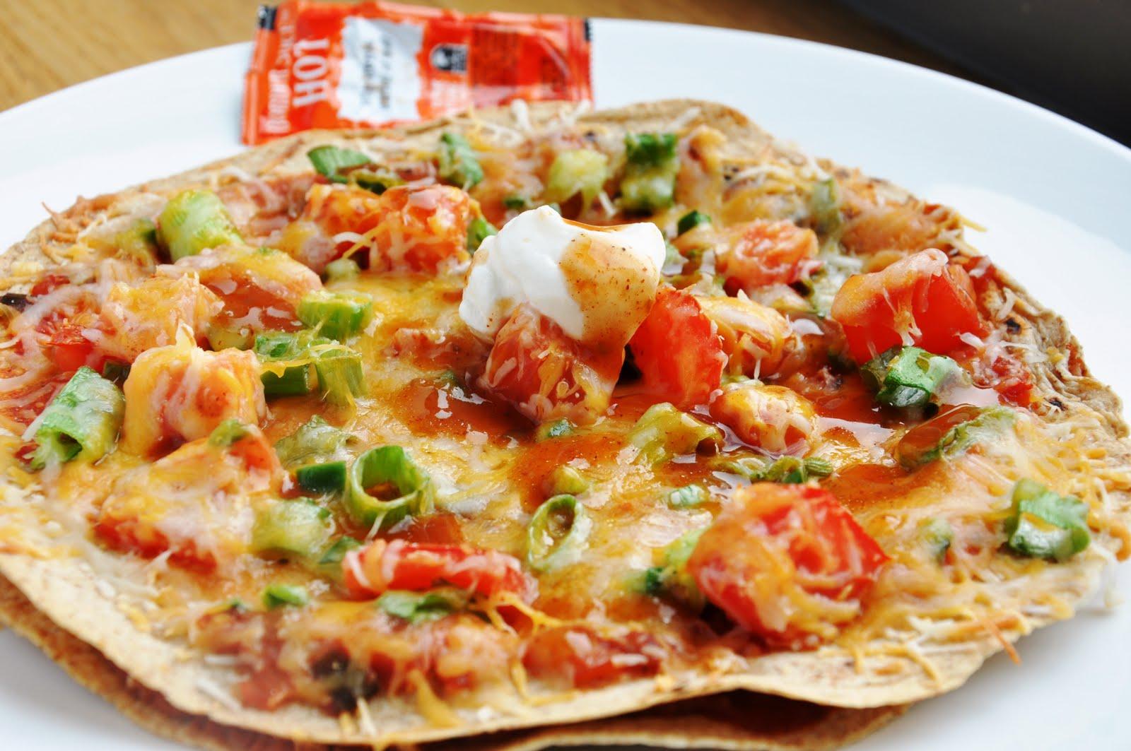 Mexican Tortilla Pizza Delicious Food Recipes