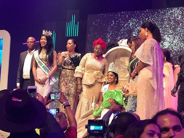 Beauty Etsanyi Tukura Emerges As Winner of Miss Nigeria 2019