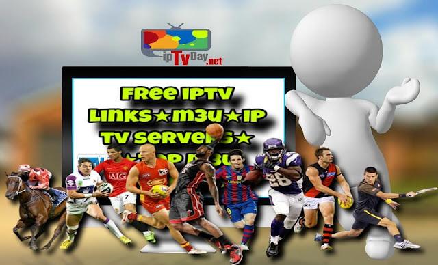 Free iptv links Top servers m3u ,m3u8, direct links 14/02/2018