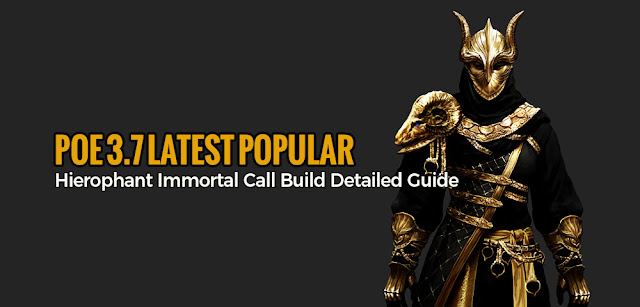 POE 3 7 Latest Popular Hierophant Immortal Call Build