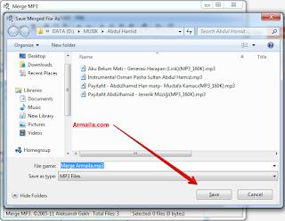 Save Merged File As