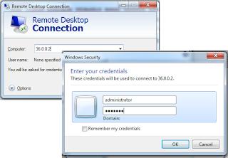 Remote Desktop Melalui Internet