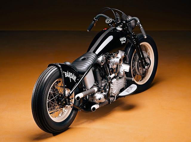 Harley Davidson Panhead 1948 By Ash Kustoms Hell Kustom