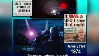 Το 1974, ένα UFO συνετρίβη στην Ουαλία και μια γυναίκα είδε μικρούς άνδρες !!