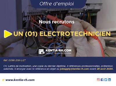 Un Electrotechnicien