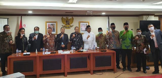Senator Fachrul Razi Terpilih Sebagai Ketua Komite I DPD RI